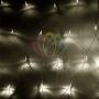 "Гирлянда ""Сеть"" 1,8х1,5м, прозрачный ПВХ, 180 LED Тепло-Белые Neon-Night"
