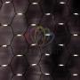 """Гирлянда """"Сеть"""" 2x1,5м, черный каучук, 288 LED Тепло-Белые Neon-Night"""