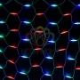 "Гирлянда ""Сеть"" 2x3м, белый каучук, 432 LED Мультиколор Neon-Night"