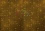 """Гирлянда """"Светодиодный Дождь""""  2х1,5м, постоянное свечение, белый провод, 220В, диоды желтые Neon-Night"""