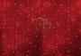 """Гирлянда """"Светодиодный Дождь"""" 2х1,5м, постоянное свечение, белый провод, 220В, диоды красные Neon-Night"""