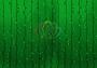 """Гирлянда """"Светодиодный Дождь"""" 2х1,5м, постоянное свечение, темно-зеленый провод, 220В, диоды зеленые Neon-Night"""