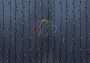"""Гирлянда """"Светодиодный Дождь"""" 2х1,5м, постоянное свечение, темно-зеленый провод, 220В, диоды белые Neon-Night"""
