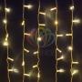 """Гирлянда """"Светодиодный Дождь"""" 2х3м, постоянное свечение, прозрачный провод, 230 В, цвет: Розовое золото Neon-Night"""