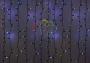 """Гирлянда """"Светодиодный Дождь"""" 2х3м, эффект мерцания, черный провод, 220В, диоды зеленые Neon-Night"""