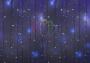 """Гирлянда """"Светодиодный Дождь"""" 2х1,5м, эффект мерцания, белый провод, 220В, диоды синие Neon-Night"""