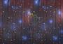"""Гирлянда """"Светодиодный Дождь"""" 2х1,5м, эффект мерцания, белый провод, 220В, диоды красные Neon-Night"""