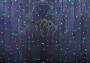"""Гирлянда """"Светодиодный Дождь"""" 2х1,5м, постоянное свечение, прозрачный провод, 220В, диоды мультиколор Neon-Night"""