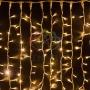 """Гирлянда """"Светодиодный Дождь"""" 2х1,5м, постоянное свечение, белый провод """"каучук"""", 230 В, диоды ТЕПЛО-БЕЛЫЕ Neon-Night"""