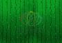 """Гирлянда """"Светодиодный Дождь"""" 2х1,5м, постоянное свечение, черный провод """"каучук"""", 230 В, диоды ЗЕЛЕНЫЕ Neon-Night"""