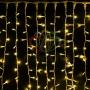 """Гирлянда """"Светодиодный Дождь"""" 2х3м, постоянное свечение, белый провод """"каучук"""", 230 В, диоды жёлтые Neon-Night"""