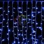"""Гирлянда """"Светодиодный Дождь"""" 2х3м, постоянное свечение, белый провод """"каучук"""", 230 В, диоды синие Neon-Night"""