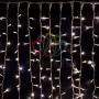 """Гирлянда """"Светодиодный Дождь"""" 2х3м, постоянное свечение, белый провод """"каучук"""", 230 В, диоды БЕЛЫЕ Neon-Night"""