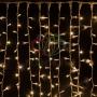 """Гирлянда """"Светодиодный Дождь"""" 2х3м, постоянное свечение, белый провод """"каучук"""", 230 В, диоды тепло-белые Neon-Night"""
