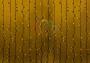 """Гирлянда """"Светодиодный Дождь"""" 2х3м, постоянное свечение, черный провод """"каучук"""", 220В, диоды желтые Neon-Night"""