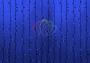 """Гирлянда """"Светодиодный Дождь"""" 2х3м, постоянное свечение, черный провод """"каучук"""", 220В, диоды синие Neon-Night"""