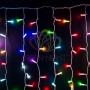 """Гирлянда """"Светодиодный Дождь"""" 2х1,5м, прозрачный провод, 230 В, диоды RGB, свечение с динамикой при приобитении контроллера 245-907 Neon-Night"""