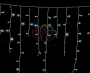 "Гирлянда ""Айсикл Белый"" 1.8х0.6м / 3 блока, белый провод, лампы прозрачные Neon-Night"