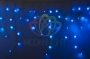 Гирлянда Айсикл (бахрома) светодиодный, 2,4 х 0,6 м, прозрачный провод, 230 В, диоды синии, Neon-Night