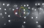 Гирлянда Айсикл (бахрома) светодиодный, 2,4 х 0,6 м, прозрачный провод, 230 В, диоды белые, Neon-Night
