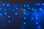 Гирлянда Айсикл (бахрома) светодиодный, 4,8 х 0,6 м, белый провод, 220В, диоды синие Neon-Night