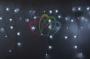 """Гирлянда Айсикл (бахрома) светодиодный, 5,6х0,9м, с эффектом мерцания, БЕЛЫЙ провод """"каучук"""", 220В, диоды БЕЛЫЕ, Neon-Night"""
