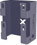 AXELENT X-TRAY 2710-2 Универсальное крепление X10 mini, оцинкованно-хромированное (черное)