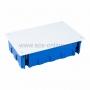 Коробка распаячная (80-0980 синяя)для с/п (гипсокартон) 265х180х70