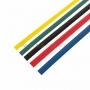 Набор термоусадочной трубки REXANT 12,0/6,0 мм, пять цветов, упаковка 50 шт. по 1 м
