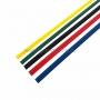 Набор термоусадочной трубки REXANT 15,0/7,5 мм, пять цветов, упаковка 50 шт. по 1 м