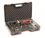 DKC / ДКС 2ARTHX120GEB Ручной инструмент со 8 сменными матрицами для опрессовки неизолированных наконечников и гильз для кабеля сечением 10,0-16,0-25,0-35,0-50,0-70,0-95,0-120,0мм2 (набор: бокс, адаптер,матрицы)