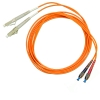 Шнур оптический 2FC/PC-2LC/PC, MM, duplex, 50/125, 1m
