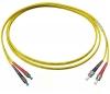 Шнур оптический 2FC/UPC-2ST/UPC, SM, duplex, 1m