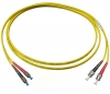 Шнур оптический 2FC/UPC-2ST/UPC, SM, duplex, 2m