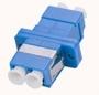 Розетка оптическая LC, одномодовая, duplex, SC-тип
