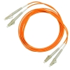 Шнур оптический 2LC/PC-2LC/PC, MM, duplex, 50/125, 2m