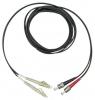 Шнур оптический 2LC/PC-2ST/PC, MM, duplex, 62,5/125, 2m
