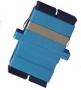 Розетка оптическая SC, одномодовая, duplex