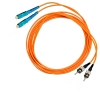 Шнур оптический 2SC/PC-2ST/PC, MM, duplex, 50/125, 1m