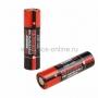 Аккумулятор Rexant 18650 unprotected Li-ion 2400 mAH 3.7 В  2 шт Блистер