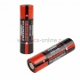 Высокоемкостный  аккумулятор Rexant 18650  unprotected 20 А Li-ion 3000 mAH 3.7 В 2 шт Блистер