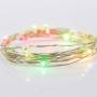 Гирлянда «Роса» с прищепкой 3 м, 30 LED, цвет свечения мультиколор, 2хCR2032 в комплекте NEON-NIGHT