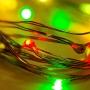 Гирлянда «Роса» 2 м, 20 LED, цвет свечения мультиколор NEON-NIGHT