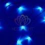 "Гирлянда ""Твинкл Лайт"" 6 м, темно-зеленый ПВХ, 40 LED, цвет: Синий Neon-Night"