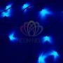 "Гирлянда ""Твинкл Лайт"" 10 м, темно-зеленый ПВХ, 80 LED, цвет: Синий Neon-Night"