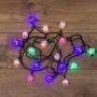 """Гирлянда светодиодная """"Кубики"""" 20 LED МУЛЬТИКОЛОР 2,8 метра с контроллером"""