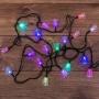 """Гирлянда светодиодная """"Колокольчики"""" 20 LED RGB 2,8 метра с контроллером"""