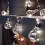 Гирлянда светодиодная «Ретро-лампы» 3 м, белое свечение, батарейки 3хАА NEON-NIGHT