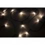 """Гирлянда """"Твинкл Лайт"""" 4  м, прозрачный ПВХ, 25 LED, цвет  Теплый Белый"""