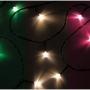 "Гирлянда ""Твинкл Лайт"" 4 м, прозрачный ПВХ, 25 LED, цвет  Мультиколор"